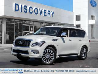 Used 2015 Infiniti QX80 Limited for sale in Burlington, ON