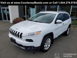 Used 2015 Jeep Cherokee 4X4 LIMITED for sale in Courtenay, BC