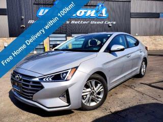 Used 2020 Hyundai Elantra Preferred w/Sun & Safety Package, Sunroof, Fwd Collision Avoidance, Lane Keep Assist, New Tires! for sale in Guelph, ON