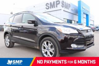 Used 2013 Ford Escape SEL - AWD, Heated Leather, Remote Start, Winter Tires (no rims) for sale in Saskatoon, SK