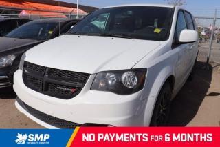 Used 2017 Dodge Grand Caravan SXT- Black Top Edition, Leather, Nav, DVD, Pwr Sliding Doors for sale in Saskatoon, SK