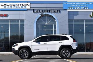 Used 2019 Jeep Cherokee Trailhawk!! LEATHER!! SELEC-TERRAIN 4X4!! HEATED SEATS!! for sale in Sudbury, ON