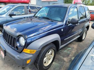 Used 2007 Jeep Liberty Sport for sale in Milton, ON