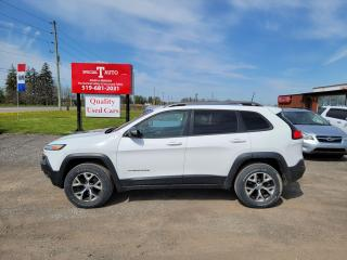 Used 2016 Jeep Cherokee Trailhawk for sale in London, ON