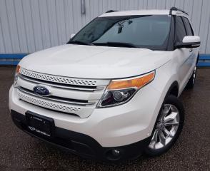 Used 2015 Ford Explorer LIMITED 4WD *LEATHER-DVD PLAYER* for sale in Kitchener, ON