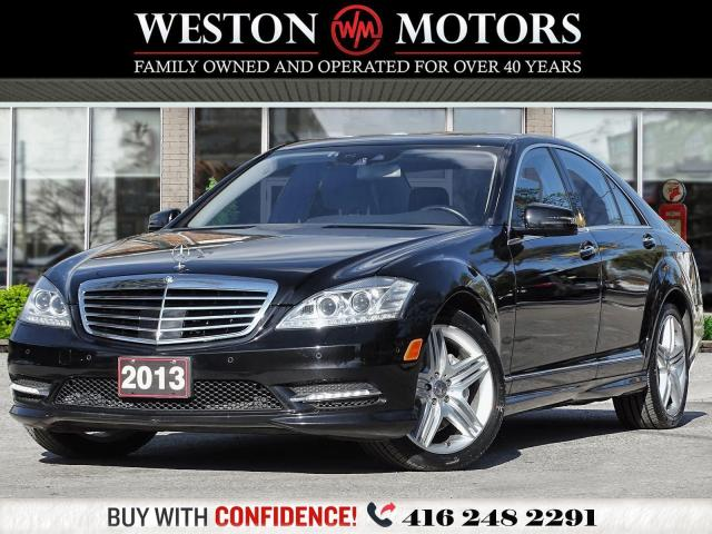 2013 Mercedes-Benz S-Class S 550*4MATIC*LEATHER*SUNROOF*NAVI*BTOOTH*REVCAM!!*