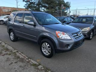 Used 2005 Honda CR-V EXL,LEATHER,ALLOYS,153KM,SAFETY AVAILABLE$490 for sale in Toronto, ON
