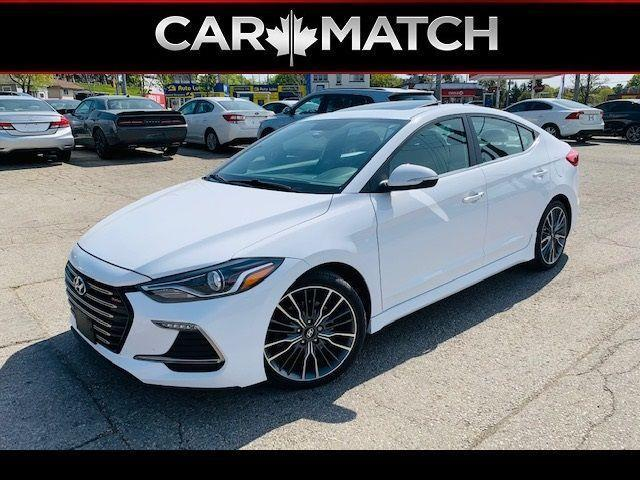 2018 Hyundai Elantra SPORT TECH / NO ACCIDENTS / LEATHER / ROOF / NAV