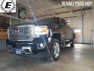 Used 2018 GMC Sierra 2500 Denali/LEATHER/NAVIGATION/SUNROOF!! for sale in Barrie, ON