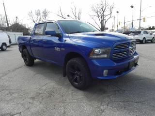 Used 2015 RAM 1500 Sport 4x4 Crew Cab No Accidents Fully Loaded for sale in Windsor, ON