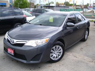 Used 2013 Toyota Camry LE,CERTIFIED,BLUETOOTH,REAR VIEW CAM,NEW TIRES,USB for sale in Kitchener, ON