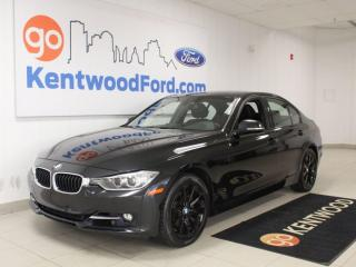 Used 2015 BMW 3 Series 328i xDrive | Heated Leather | Nav | Sunroof | One Owner Trade for sale in Edmonton, AB