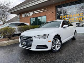 Used 2017 Audi A4 Komfort quattro Turbo Sunroof Park Assist Certi* for sale in Concord, ON