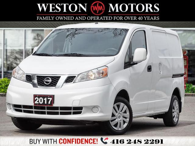 2017 Nissan NV200 4CYL*2PASS*TRACTION CTRL*BTOOTH!*