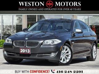 Used 2013 BMW 5 Series 528ixDrive*LEATHER*SUNROOF*REVCAM!!* for sale in Toronto, ON