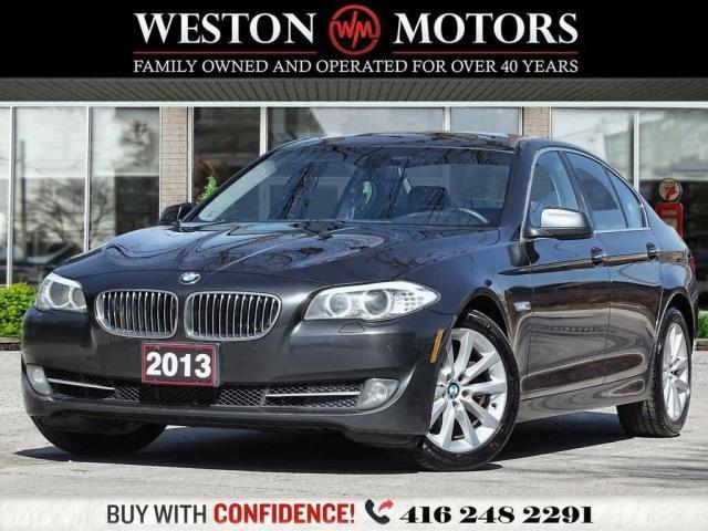 2013 BMW 5 Series 528ixDrive*LEATHER*SUNROOF*REVCAM!!*