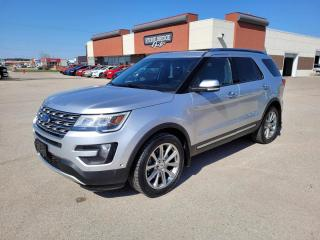 Used 2016 Ford Explorer LIMITED for sale in Steinbach, MB