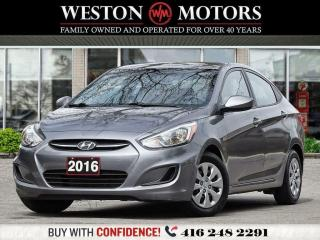 Used 2016 Hyundai Accent GL*1.6L*LOW KMS!*GREAT SHAPE!!!* for sale in Toronto, ON