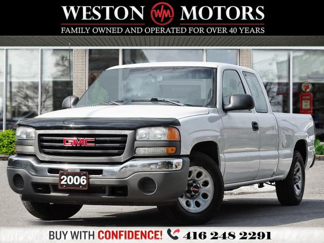 """2006 GMC Sierra 1500 SL*4.3L*EXT CAB*6 PASS*6.7""""BED*SOLD CERTIFIED!!*"""