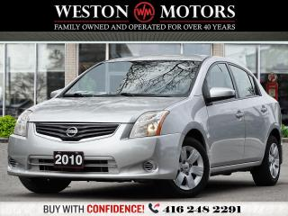 Used 2010 Nissan Sentra 2.0L*XTRONIC CVT*LOCAL TRADE!!*SOLD CERTIFIED!!* for sale in Toronto, ON