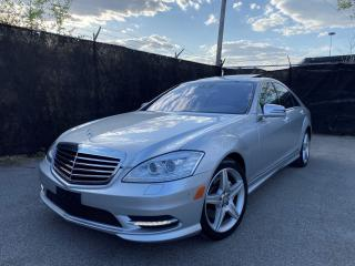 Used 2011 Mercedes-Benz S-Class 4MATIC-AMG PKG-SPORT PKG-NAVIGATION-CAMERA for sale in Toronto, ON
