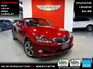 Used 2012 Lexus IS 250 C CONVERTIBLE | CERTIFIED | FINANCE | 9055478778 for sale in Oakville, ON