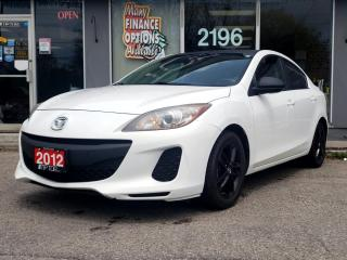 Used 2012 Mazda MAZDA3 4dr Sdn Auto GX for sale in Bowmanville, ON