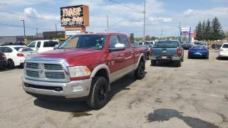 Used 2010 Dodge Ram 2500 Laramie**LEATHER**CUMMIN DIESEL*CREW CAB*4X4* for sale in London, ON