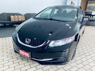 Used 2015 Honda Civic EX I SUNROOF I ALLOY I REAR CAMERA CRTIFIED $9499 for sale in Brampton, ON