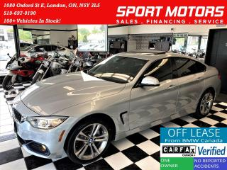 Used 2017 BMW 4 Series 430i xDrive+ApplePlay+Camera+Tinted+CLEAN CARFAX for sale in London, ON