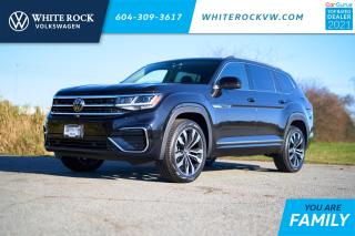 New 2021 Volkswagen Atlas 3.6 FSI Execline *CAPTAINS CHAIRS* *DIGITAL DASH* *LANE ASSIST* *ADAPTIVE CRUISE* *LEATHER* *SUNROOF* for sale in Surrey, BC
