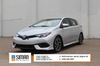 Used 2018 Toyota Corolla iM FACTORY POWERTRAIN for sale in Regina, SK