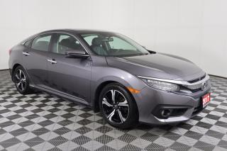 Used 2017 Honda Civic Touring NAVI | LEATHER | SUNROOF | ADAPTIVE CRUISE CONTROL for sale in Huntsville, ON
