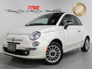 Used 2015 Fiat 500 C LOUNGE I 5-SPEED I CONVERTIBLE I COMING SOON for sale in Vaughan, ON