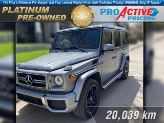 Used 2017 Mercedes-Benz G-Class AMG 63 4MATIC for sale in Rosetown, SK