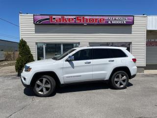 Used 2016 Jeep Grand Cherokee LIMITED LEATHER for sale in Tilbury, ON
