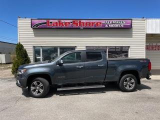 Used 2015 Chevrolet Colorado 4WD LT LEATHER for sale in Tilbury, ON