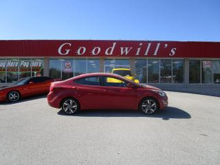 Used 2015 Hyundai Elantra GLS! SUNROOF! BACKUP CAMERA! for sale in Aylmer, ON