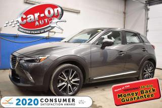 Used 2018 Mazda CX-3 BOSE PREMIUM AUDIO | HUD DISPLAY | 18 ALLOY WHEEL for sale in Ottawa, ON