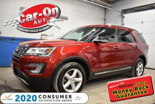 Used 2017 Ford Explorer LEATHER | FRONT AND REAR PARK SENSORS | LEATHER for sale in Ottawa, ON