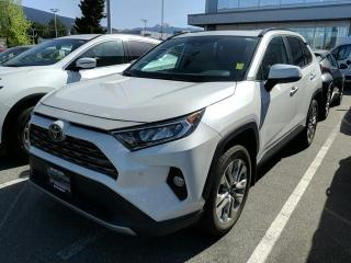 Used 2019 Toyota RAV4 Limited, Certified for sale in North Vancouver, BC