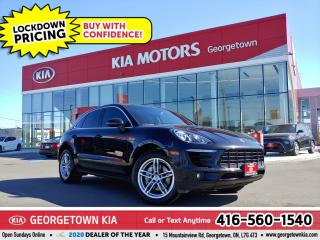 Used 2016 Porsche Macan S AWD | CLEAN CARFX| RED/BLK LTHR | PANO ROOF| NAV for sale in Georgetown, ON