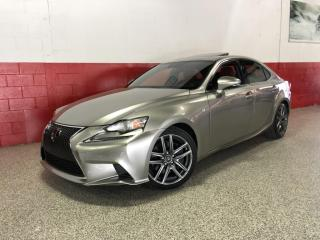 Used 2016 Lexus IS 300 AWD F-SPORT LEVEL 2|NAVI CAMERA PADDLE SHIFTERS SUNROOF for sale in North York, ON