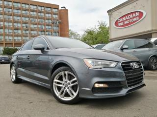 Used 2015 Audi A3 CLEAN CARFAX | PROGRESSIV | NAVI | ROOF | 4 NEW SNOW TIRES* for sale in Scarborough, ON