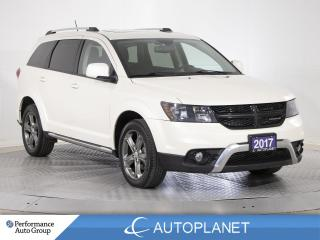 Used 2017 Dodge Journey Crossroad AWD, 7-Seater, Navi/Back Up Cam Grp! for sale in Clarington, ON