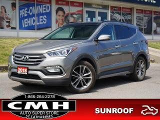 Used 2018 Hyundai Santa Fe Sport SE  CAM ROOF LEATH HTD-S/W 19-AL for sale in St. Catharines, ON