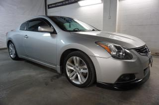 Used 2012 Nissan Altima S 6Spd COUPE CERTIFIED 2YR WARRANTY SUNROOF BLUETOOTH HEATED ALLOYS for sale in Milton, ON