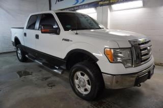 Used 2010 Ford F-150 V8 XLT 4X4 SUPER CREW CERTIFIED 2YR WARRANTY BLUETOOTH ALLOYS RUNNING BOARDS for sale in Milton, ON