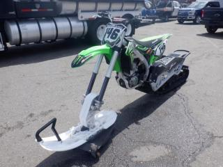 Used 2017 Kawasaki KX450F Timbersled Mountain Horse for sale in Burnaby, BC