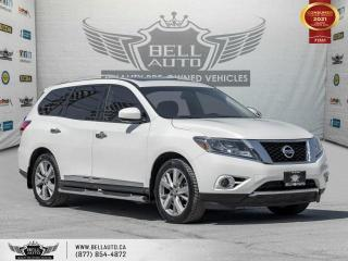 Used 2016 Nissan Pathfinder Platinum, 4WD, 7-PASS, NAVI, 360CAM,B.SPOT, SUNROOF, BLUETOOTH for sale in Toronto, ON